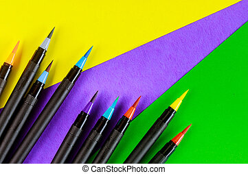 Art supplies watercolor paint pens of drawing supplies