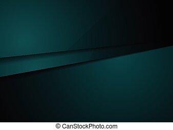 art, vert, sombre, conception, technologie, constitué