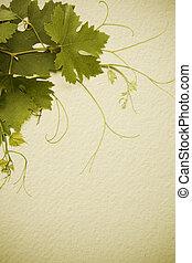 art vintage style concept design for a wine list - idea of...