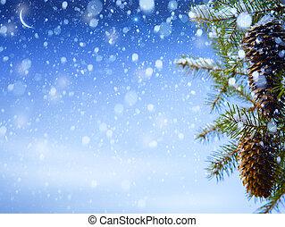 art winter background