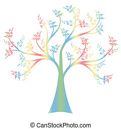 arte, árbol
