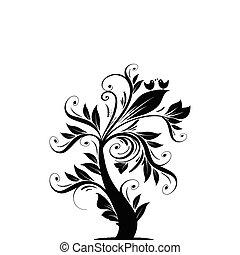 arte, árvore