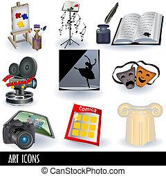 arte, ícones