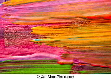 arte abstracto, backgrounds., entregue pintado, fondo., sí mismo, made.