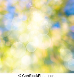 arte abstracto, otoño, natural, plano de fondo