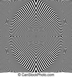 arte abstracto, telón de fondo., op