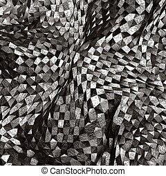 arte abstrata, áspero, fundo, textured