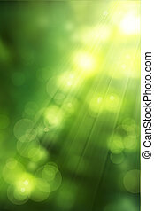 arte, abstratos, natureza, fundo, primavera, verdes