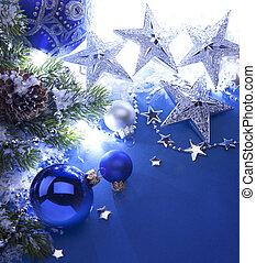 arte, cartão natal, saudação