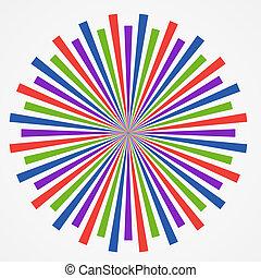 arte, coloridos, abstratos, illustratio, experiência.,...