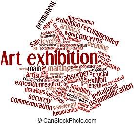 arte, exposición