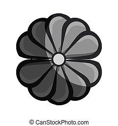 arte floral, decorativo, ícone