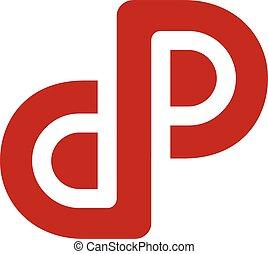 arte, iniziale, logotype, tema, lettera, logotipo
