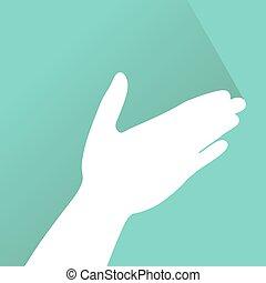 arte, mão