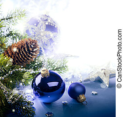 arte, natal, cartão cumprimento