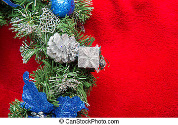 arte, navidad, tarjeta, saludo