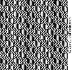 arte, pattern., seamless, geométrico, texture., op
