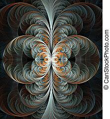 arte, plano de fondo, resumen, fractal, proyectos
