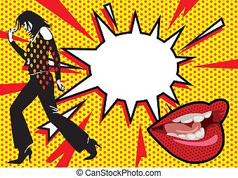arte pop, explosión