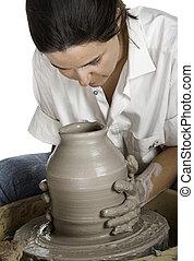 arte, potter's
