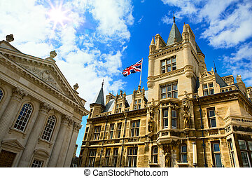 arte, unido, universidad, cambridge, reino, educación
