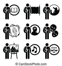 artes, grau, humanidades