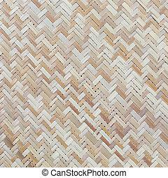 artesanato, vime, textura, tradicional, fundo, tecer