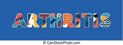 Arthritis Concept Word Art Illustration