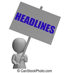 articoli, significato, urgente, protesta, importante, ...