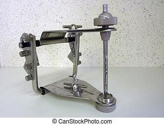 articulator, 灰色, 金属