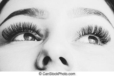 Artificial 4D eyelashes