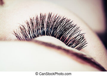 Artificial 4D eyelashes - Artificial lashes. eyelash...