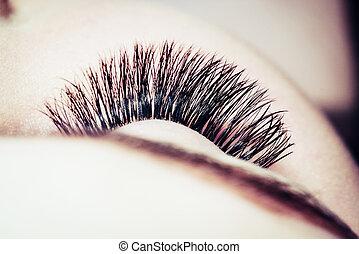 Artificial 4D eyelashes - Artificial lashes. eyelash...