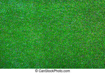 Artificial green grass background texture