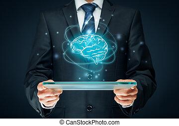 Artificial intelligence (AI), machine deep learning, data...