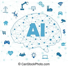Artificial Intelligence concept - Concept of Artificial ...