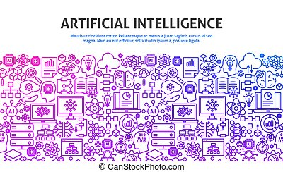 Artificial Intelligence Concept. Vector Illustration of ...
