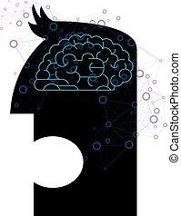 Artificial intelligence conceptual design.