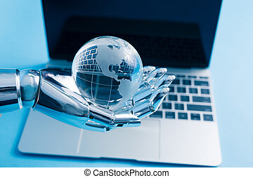 Artificial Intelligence Global Concept