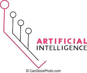 artificial intelligence line symbol