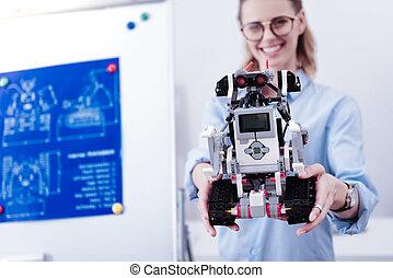 Selective focus of a modern robot