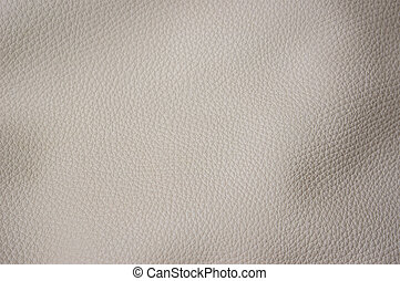 Artificial leather of beige color