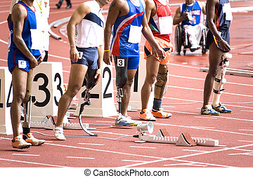 Artificial Limbs (Prosthetics) - Image of disabled athletes ...