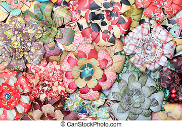 paper flower - artificial paper flower, background texture