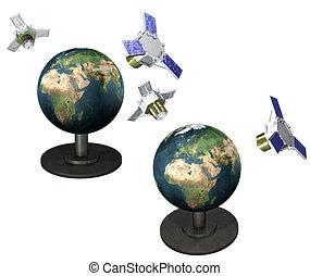 Artificial satellite