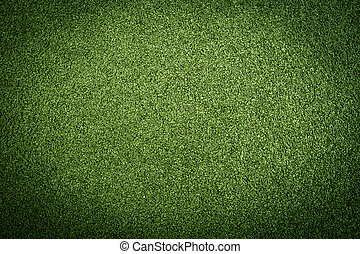 Artificial turf - Artificial grass turf in green colors