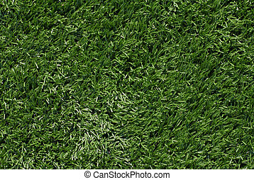 Artificial Turf Background - Full frame view of artificial...