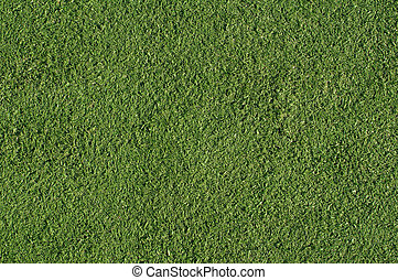 Artificial turf green