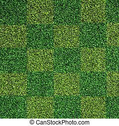 artificiel, herbe, texture, vert