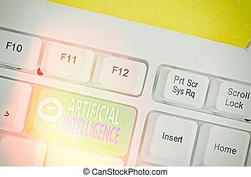 artificiel, problème, copie, aimer, texte, intelligence., machine, solving., concept, fonction, signification, cognitif, écriture